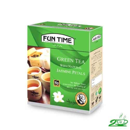 چای سبز لاغری فان تایم
