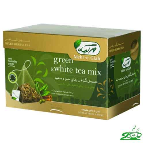 چای سفید مهرگیاه