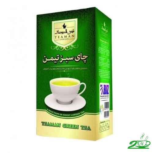 چای سبز تیمن لاهیجان
