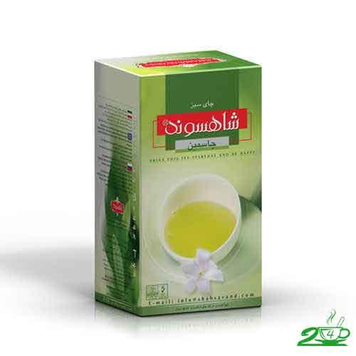 چای سبز جاسمین شاهسوند