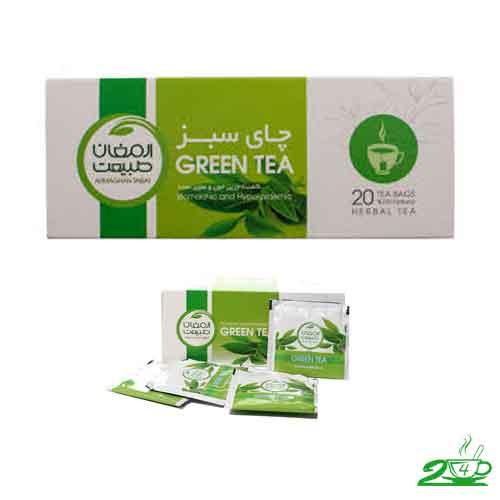 چای سبز ارمغان طبیعت