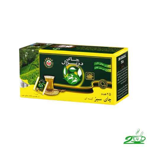 قیمت چای سبز دو غزال