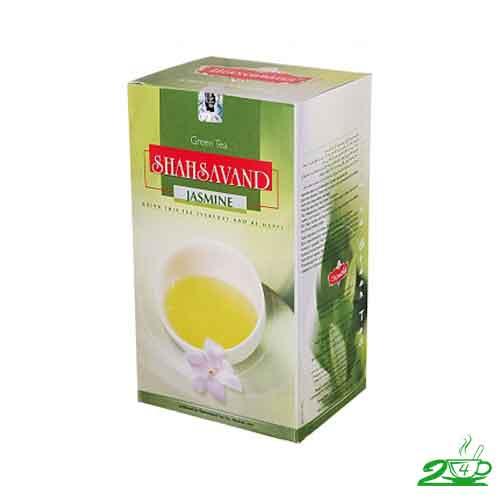 خرید چای سبز جاسمین شاهسوند