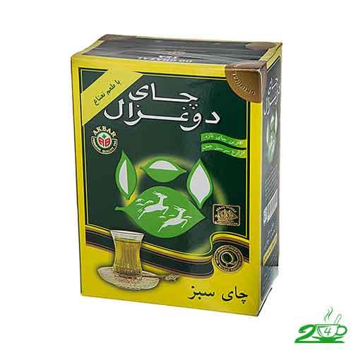 چای سبز لاغری دو غزال