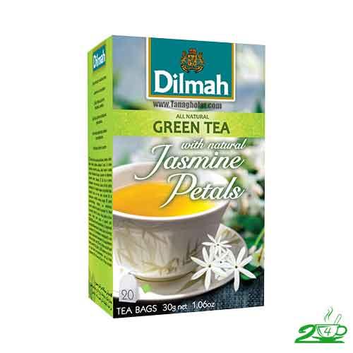 چای سبز لاغری دیلما