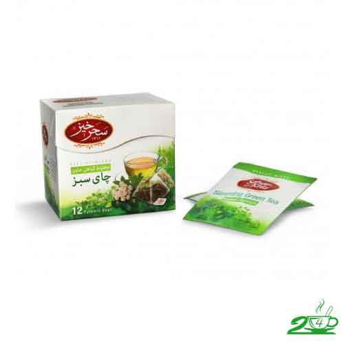 چای سبز لاغری سحرخیز