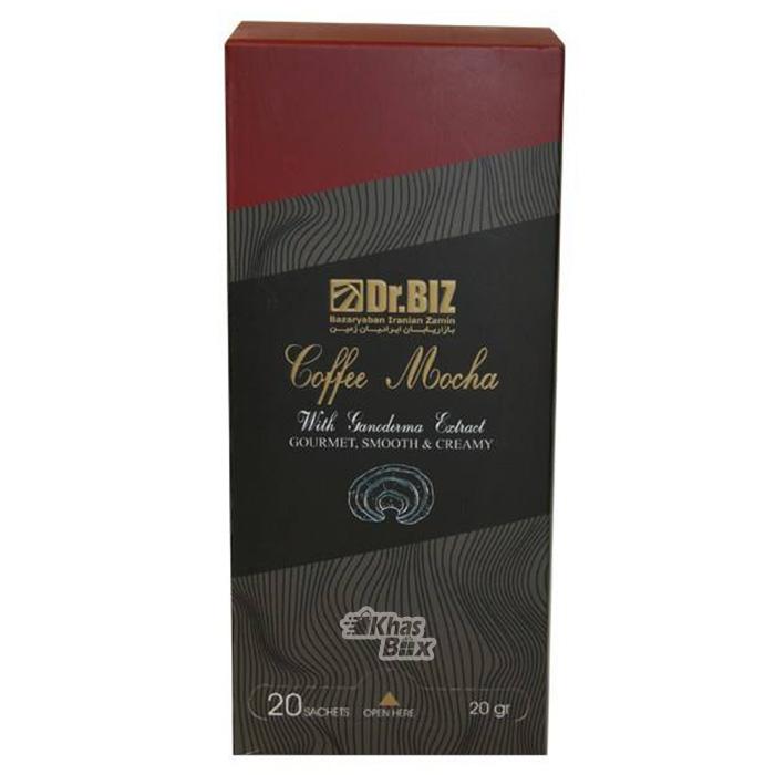 قهوه قارچ گانودرما مدل موکا